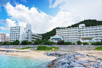 Kariyushi condominium resort Nago seaside house