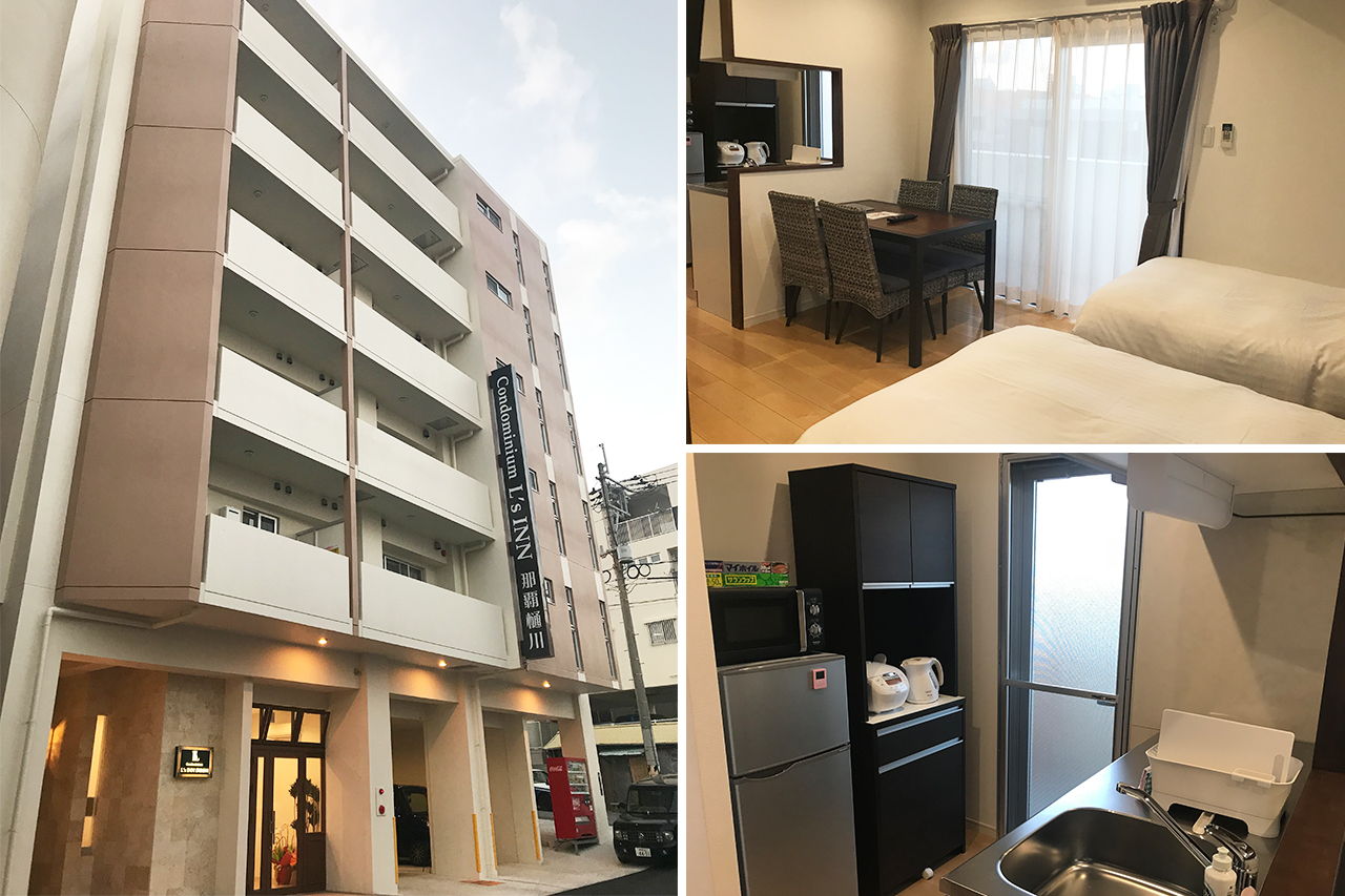 Condominium L'sINN 나하 히가와 [JOY HOTEL management]