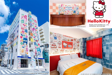 [confirmation required] Hotel Okinawa with Sanrio characters