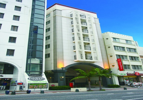 Our Hotel is located in center of Naha-City and Kokusai Street making it a good place for sightseeing and also business.