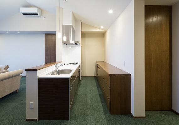 All guest rooms have a fully equipped system kitchen