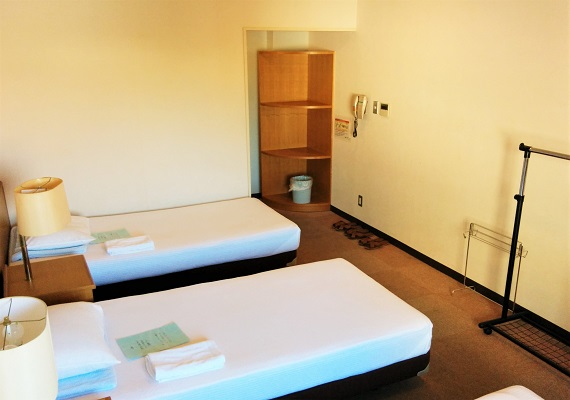 Western-style room (capacity: 2 to 3 people/shared bathroom)