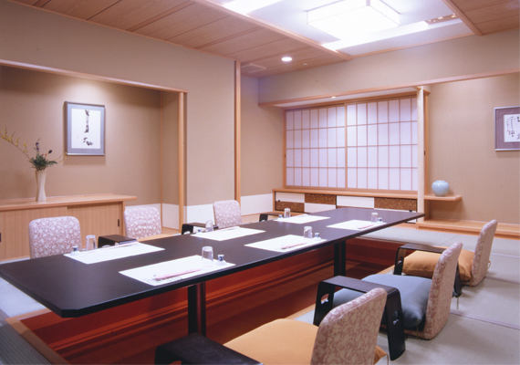 Traditional Japanese restaurant's room Ryoutei (※Sample)
