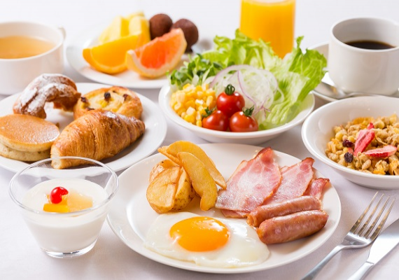 Breakfast buffet (Sample)