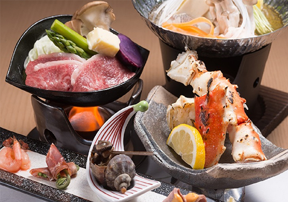 We provide authentic Japanese style banquet dishes for Dinner.
