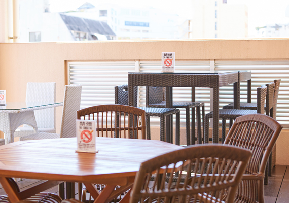 Shared terrace [5F]
