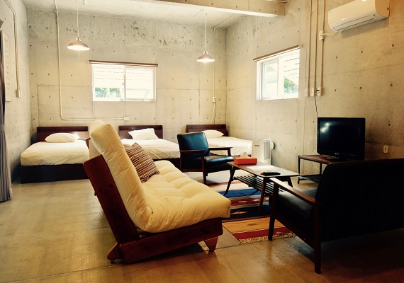 Room with 3 beds (1 room) 38 ㎡