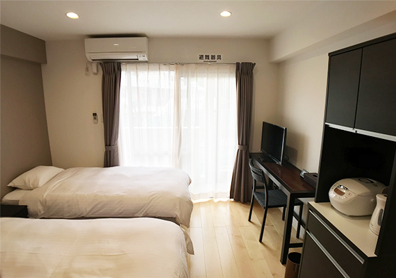 【Capacity up to 2 people】Twin room 20 ㎡ (image)