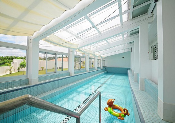 【Indoor pool (paid option, advance reservation is necessary)】