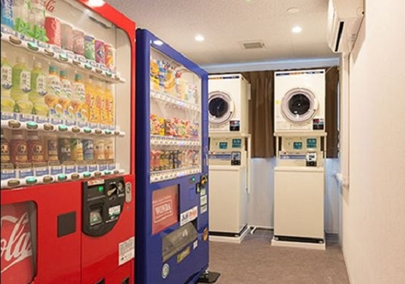 Vending machines and coin laundry