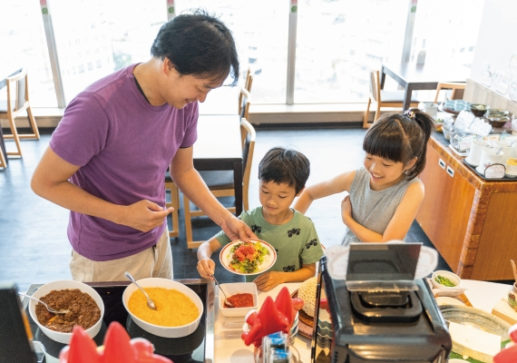 "Experience ""enjoying"" even at breakfast! It's fun to make with your family! It's delicious!"