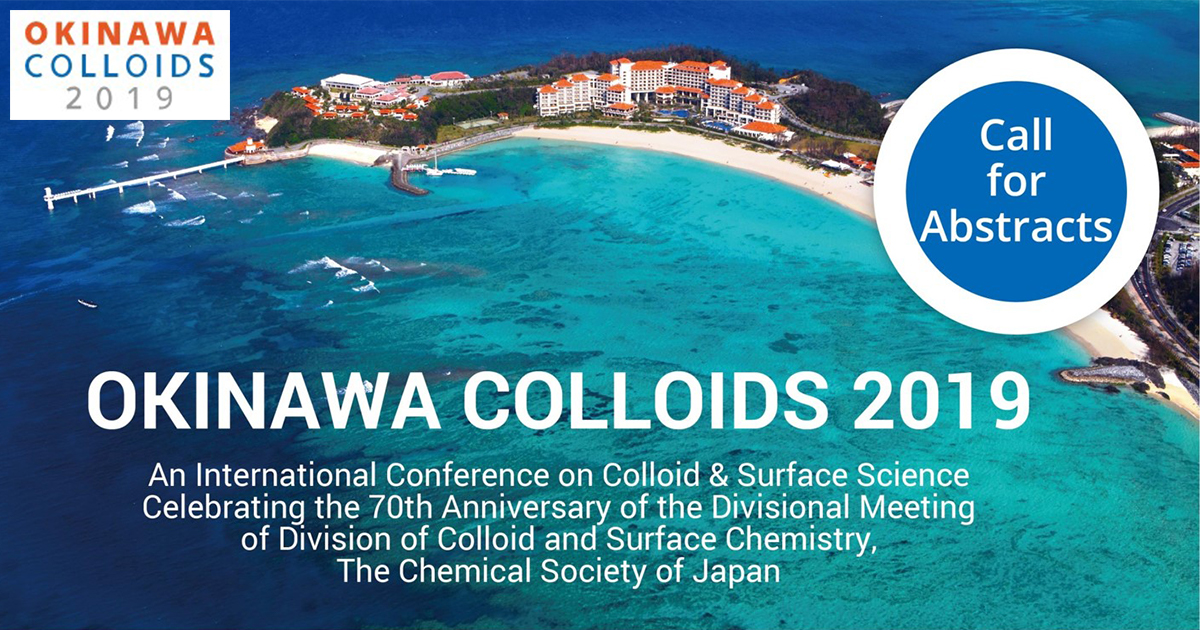 OKINAWA CLLOIDS 2019 - Exclusive accommodation offer for participants only