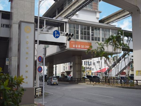 【HOTEL AZAT】Right in front of monorail's Asato station