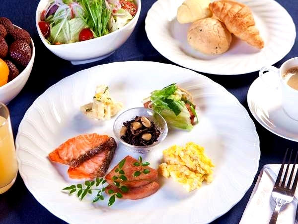 The pleasure of choosing - breakfast buffet♪