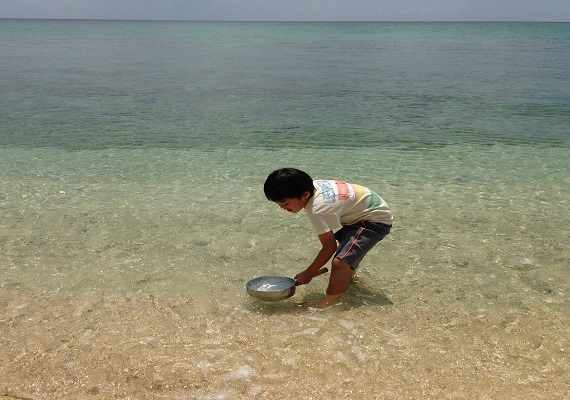 Have an experience of salt-crafting from natural sea water!