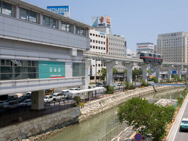 It takes 3 minutes to reach Yu rail's Asahibashi station on foot★