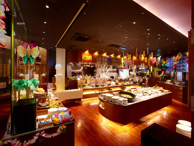 Plan with 60 kinds of breakfast buffets