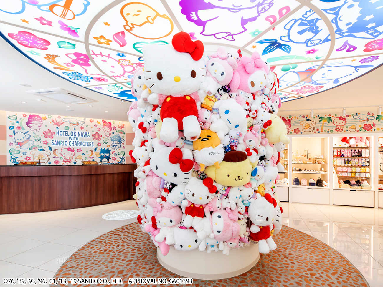 Sanrio characters room [attributive plan]