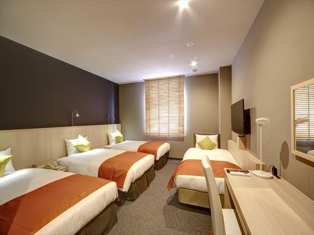 [Family 23 ㎡] This room can be used up to 4 persons♪