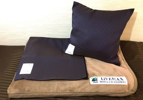 ■ Original cushion & blanket (blanket is in cushion cover)