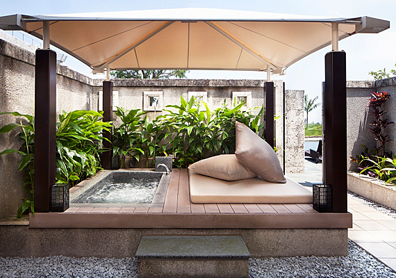 Terrace of Cabana Room