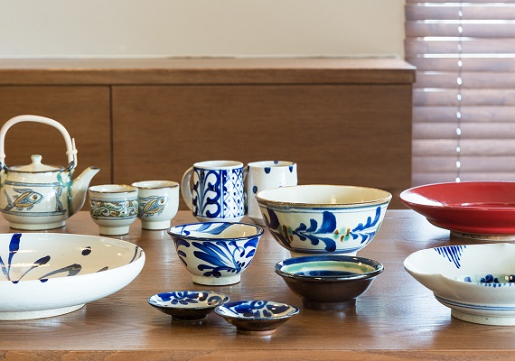 We prepare Yomitan pottery tableware