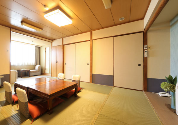 Japanese-style room (room is selected by the hotel)