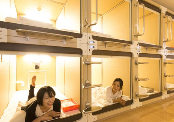 [2 guests and 2 rooms] Capsule for women (non-smoking)