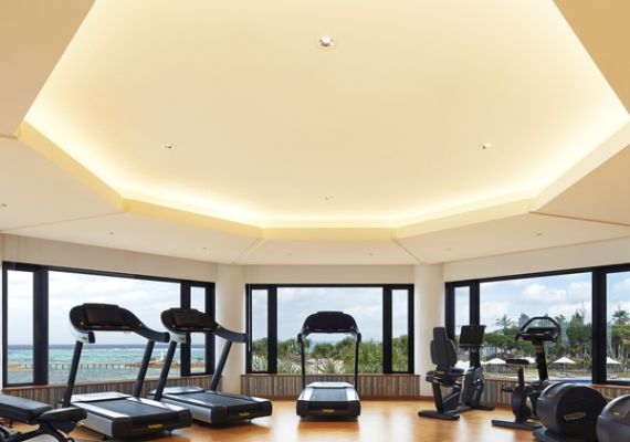 """Sheraton fitness"" (gym) / free for hotel guests 24 hours"