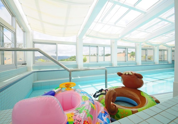 【Indoor pool】Children will enjoy it also♪ Please book in 2~3 days in advance if you would like to use it.
