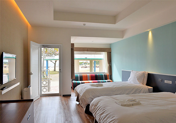 【No smoking】Beach side room · 38 m²【Direct access to beach】