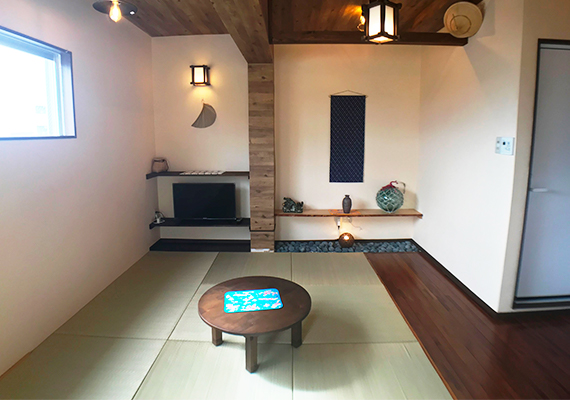 【Capacity 4 people・Non-smoking indoor space】1 rental floor in the compact condominium