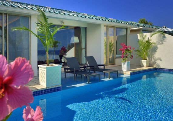 Executive suite (private pool available, capacity 2 guests)