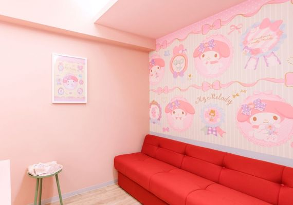My melody design/living area