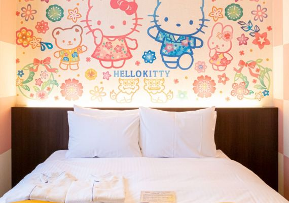 Hello Kitty double/design: Ryukyu ※We cannot choose design.