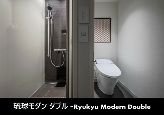 We upgrade comfort by becoming independent Ryukyu modern double - powder room, shower room - each.