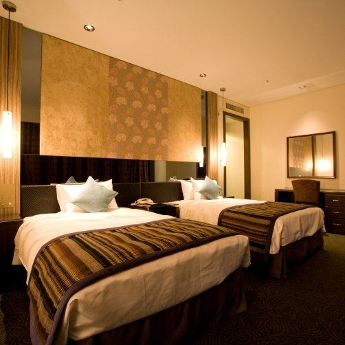 Premium floors of higher-grade hospitality offer luxurious city resort stay.