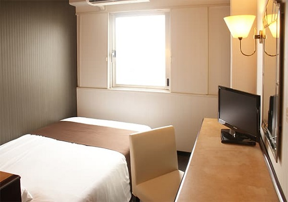 Single ★ smoking room ★ three-quarter bed(12㎡)