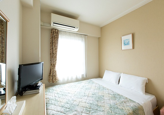 [Non-smoking] Double room (11 square meters) bed width 160㎝