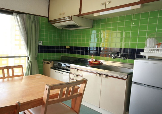 Since kitchen is included it is recommended for guests who stay several nights.