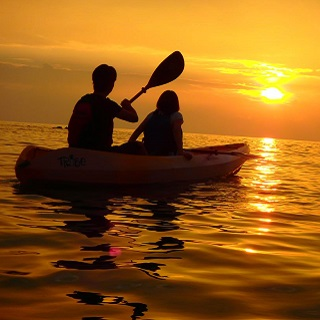 Sunset Kayaking Tour 【Customers discount from 1 to 9 people! 】