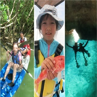 Wow!1 day tour with this price?! Kayaking+Fishing+Blue Cave package tour!!