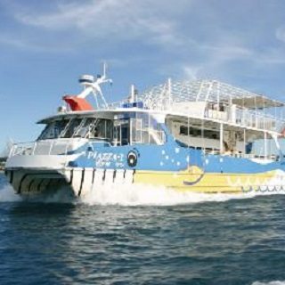 Underwater Observing Ship! The Coral View Cruising at【Motobu Genki Village】