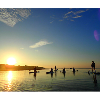 A refreshing and moving experience from the morning! Sunrise SUP / Canoe Tour