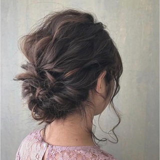 Updo Hairstyle Arrangement