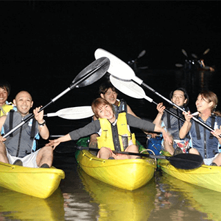 Daily departures! Available from 1 participant! Night River Kayak Tour. Easy access, held in the central area of Okinawa.