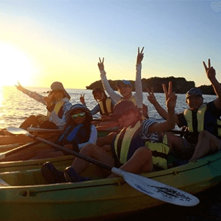 【Group discount】Sunset Kayak Tour.  Good Deal for 4 people or more♪