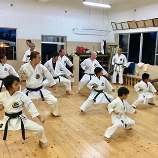 Karate Training Experience in its Birthplace, Okinawa!「at Minei Karate Dojo」(2 hour course)