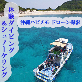Travel together with a Pro Cameraman! Exciting diving & snorkeling tour from Naha, Okinawa ★ Drone Shooting included!