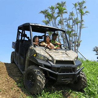 Only 30 minutes from Naha Airport! BIG Buggy Ride experience in the Jungle!